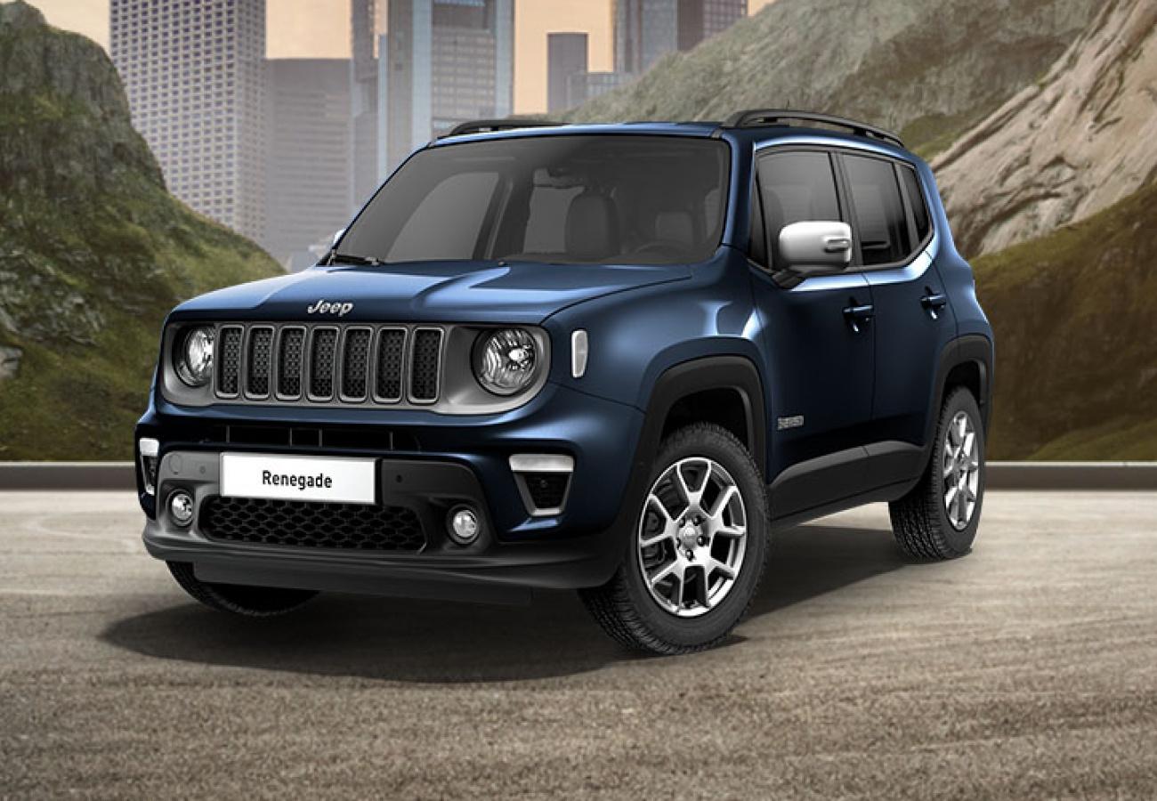 Jeep Renegade - Noleggio con Jeep Miles