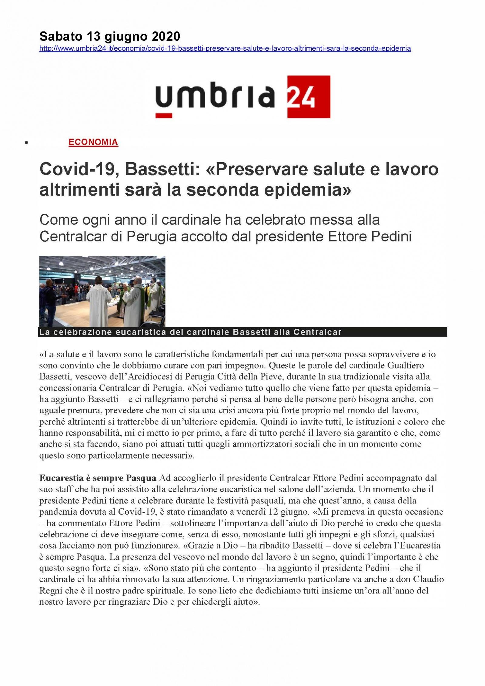 """Covid-19, Bassetti: """"Preservare salute e lavoro altrimenti sarà la seconda epidemia"""""""