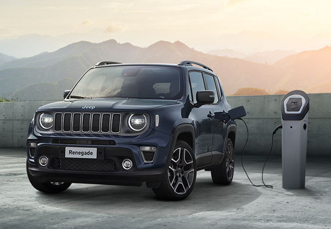 Nuova Jeep Renegade 4xe Plug-in Hybrid - Finanziamento