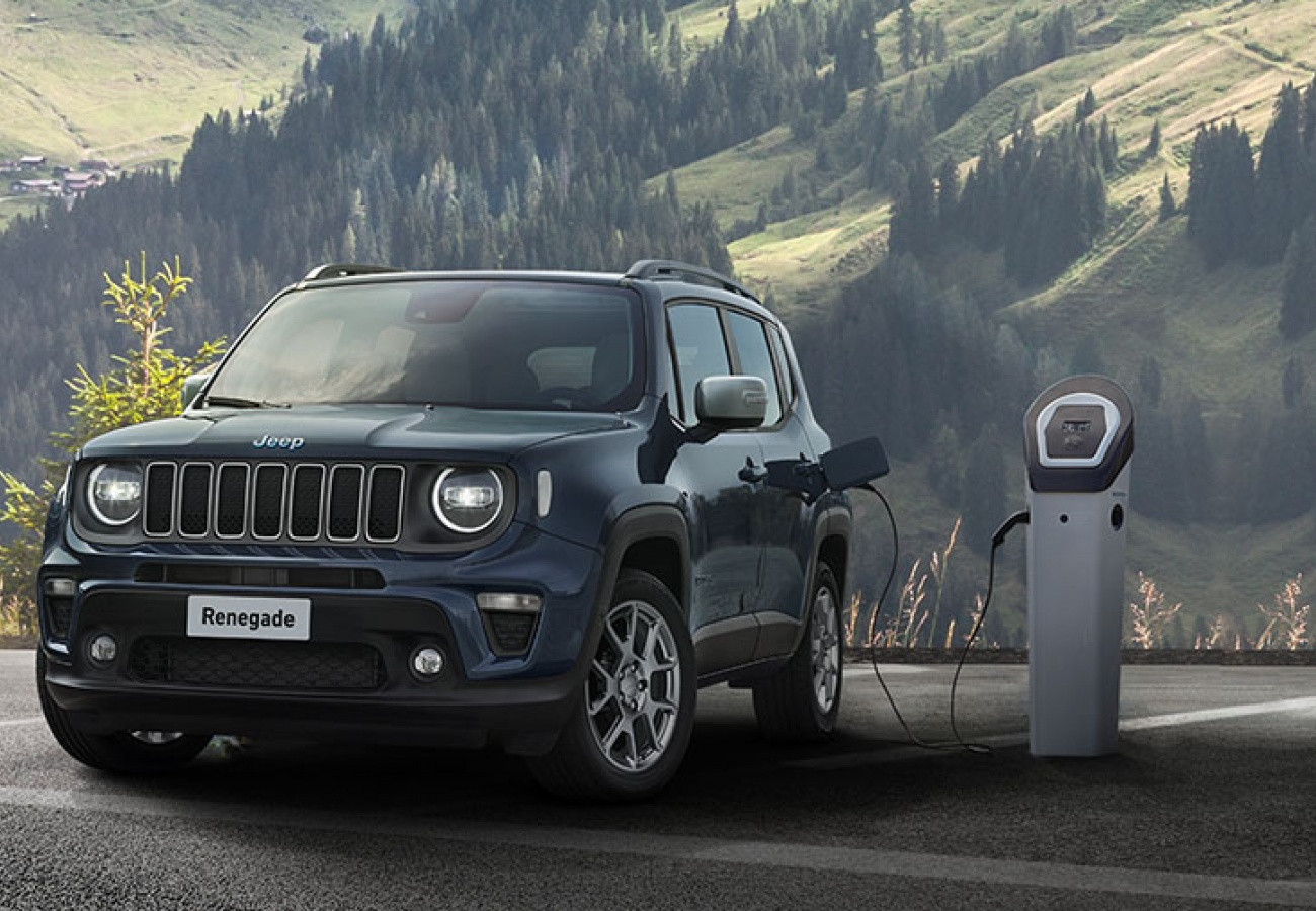 Nuova Jeep Renegade 4xe Plug-in Hybrid - Noleggio