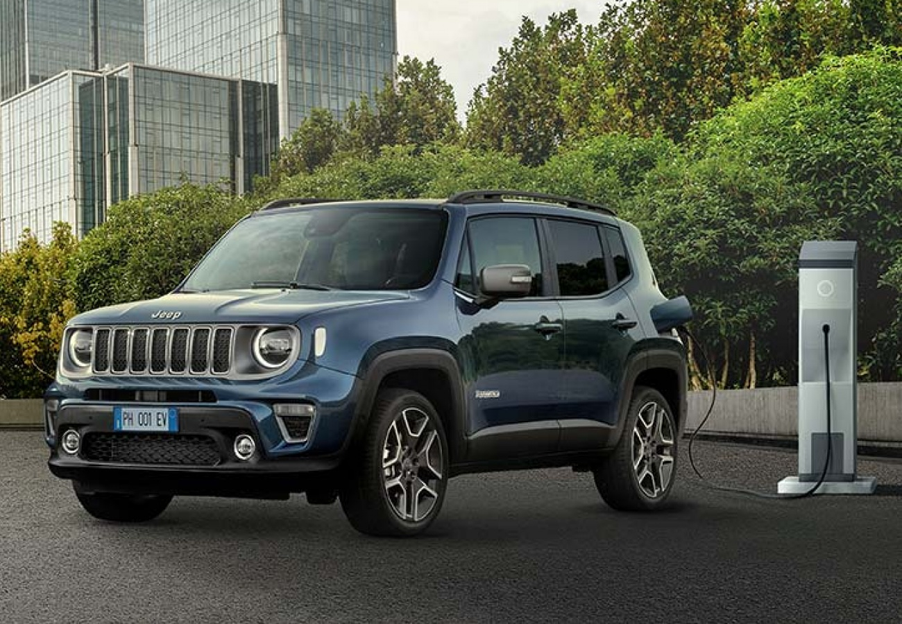 Nuova Jeep Renegade 4xe Plug-in Hybrid - Noleggio Chiaro