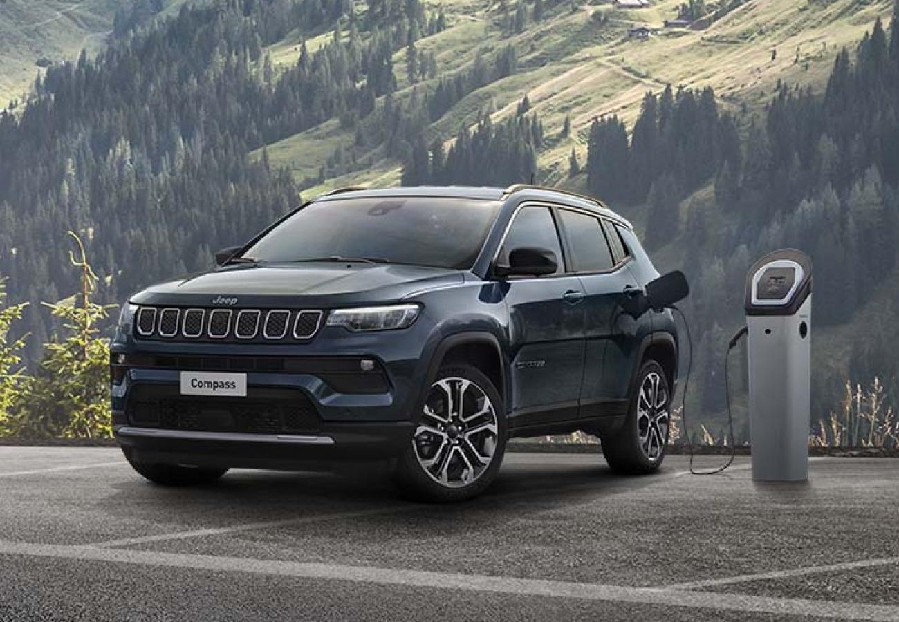 Nuova Jeep Compass 4xe Plug-in Hybrid - Noleggio Chiaro