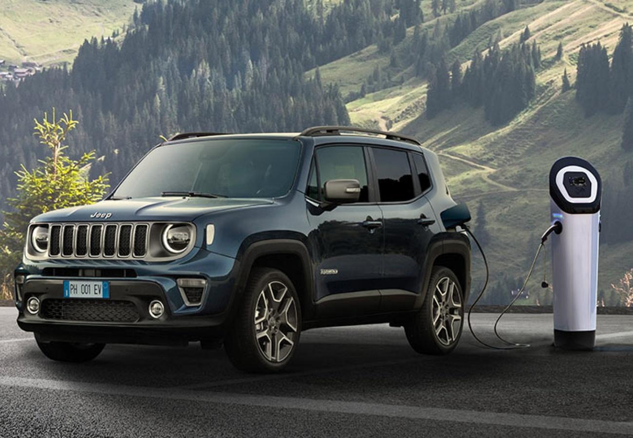 Nuova Jeep Renegade 4xe Plug-in Hybrid - Noleggio Be Free