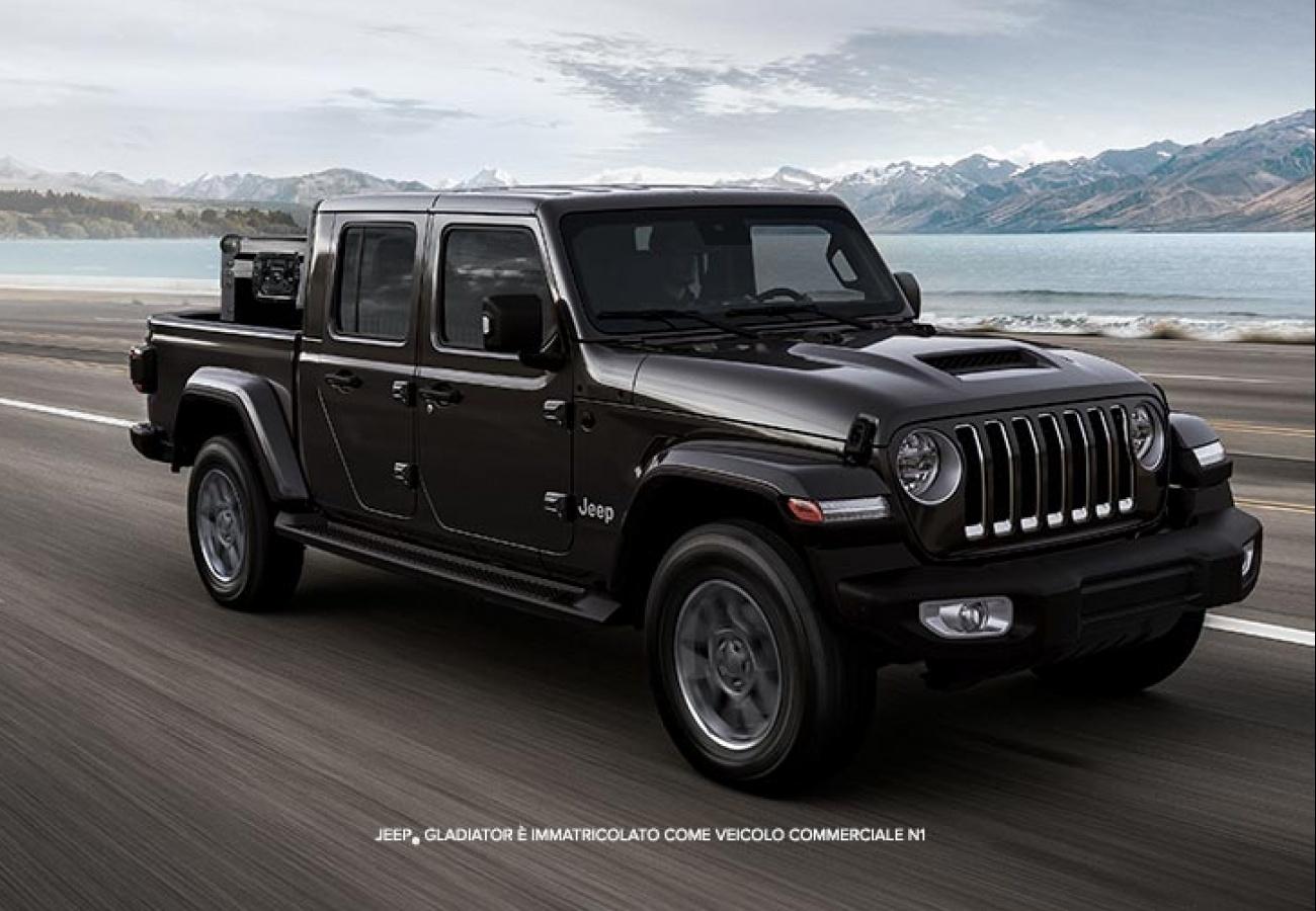 Nuova Jeep Gladiator - Finanziamento Jeep Free