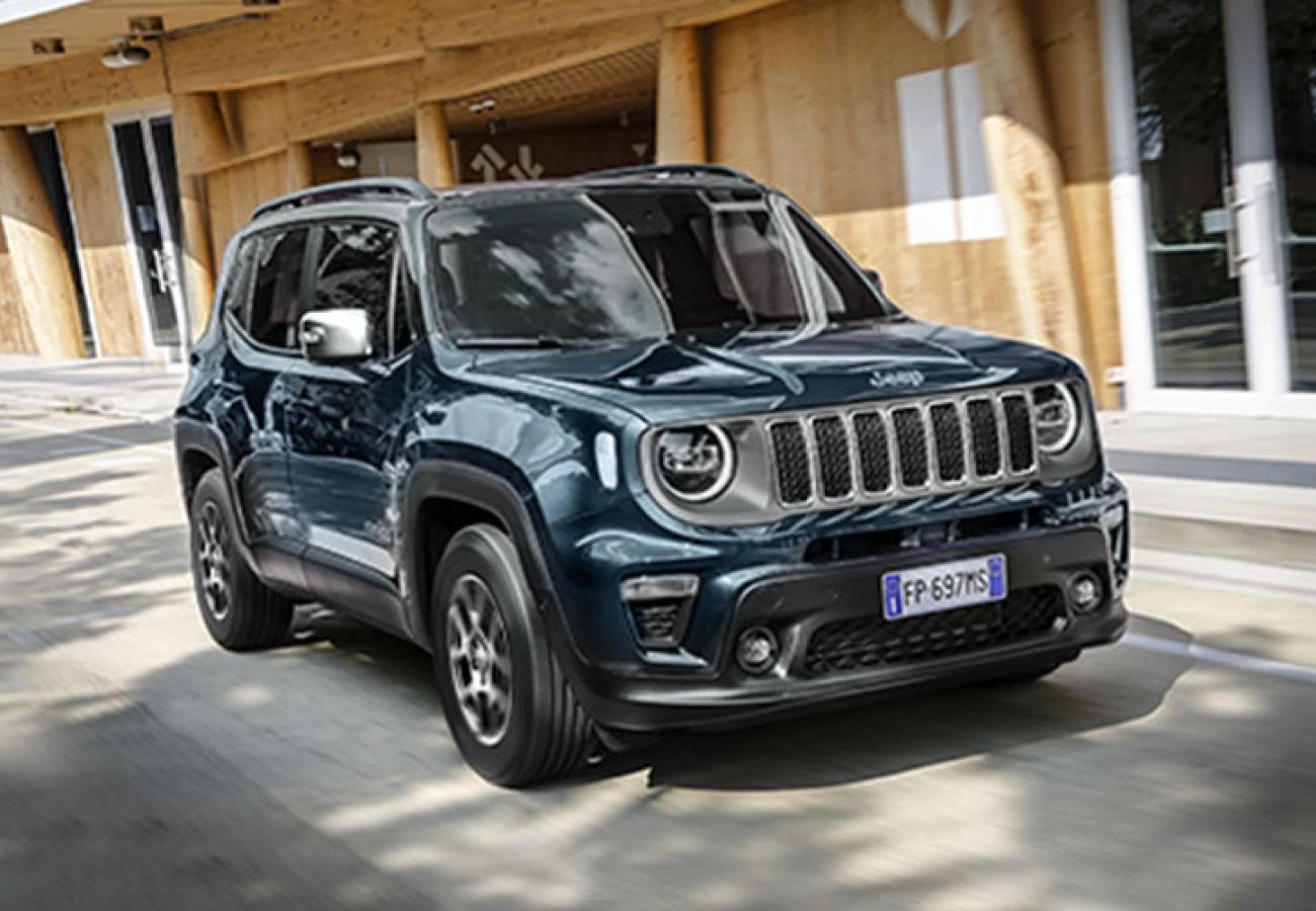 Jeep Renegade - Noleggio Chiaro