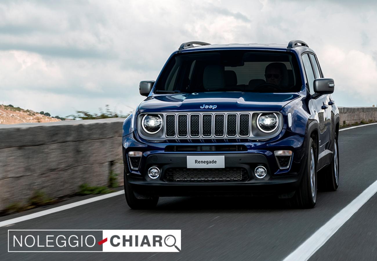 Jeep Renegade Limited - Noleggio Chiaro