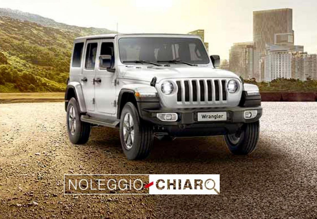 Jeep® Wrangler noleggio chiaro