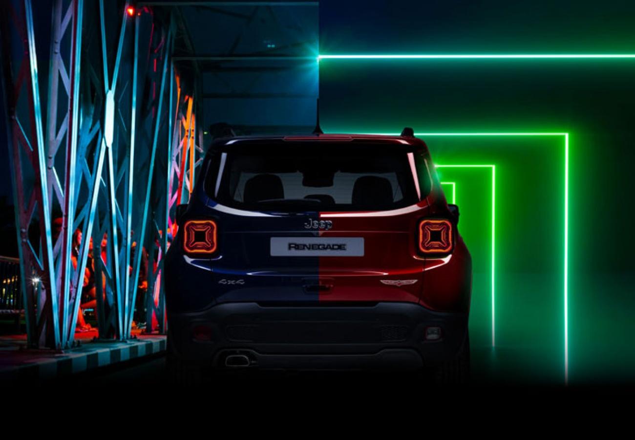 Jeep® Renegade Ibrida Plug-in