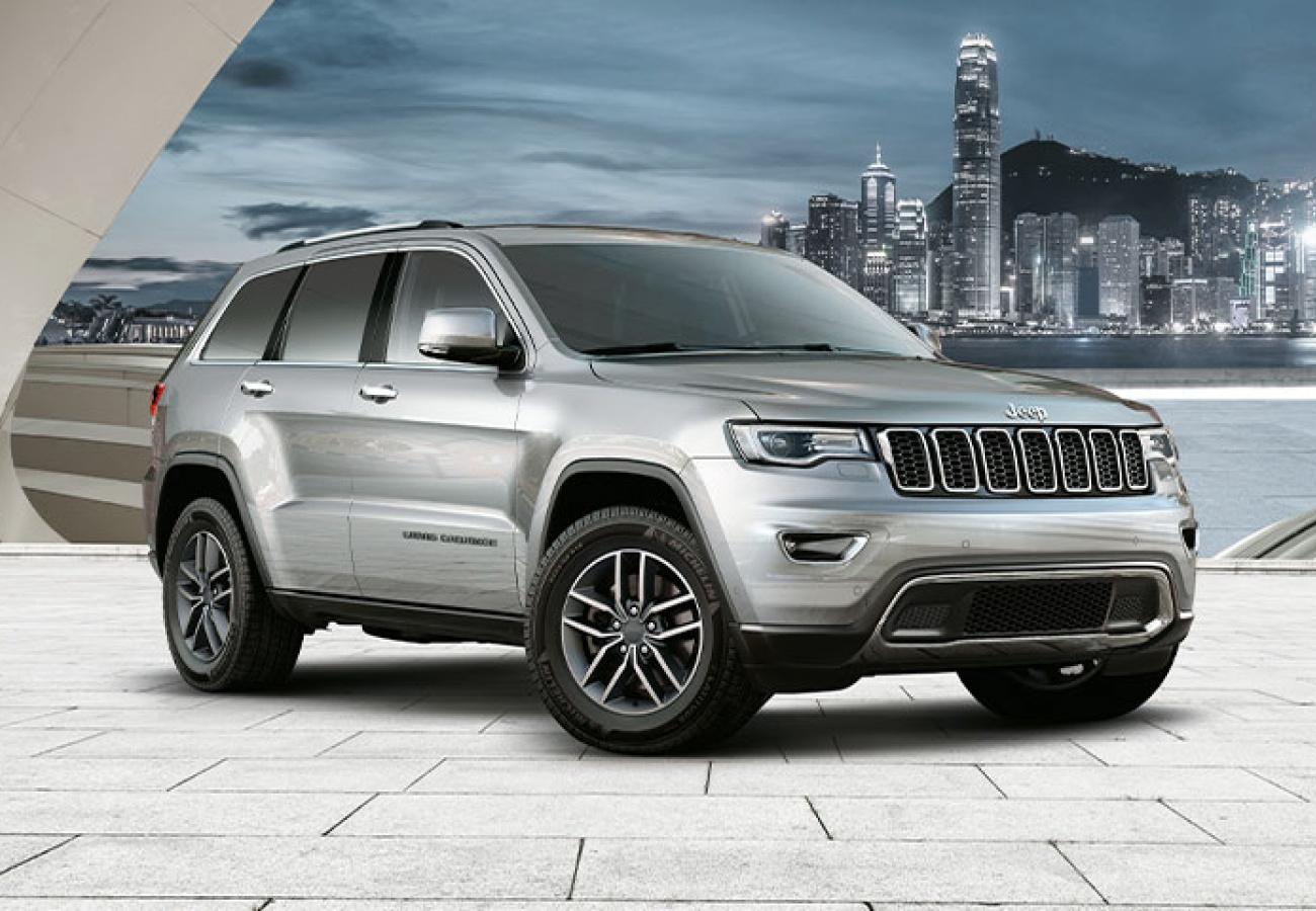 Jeep Grand Cherokee Limited - Noleggio Chiaro